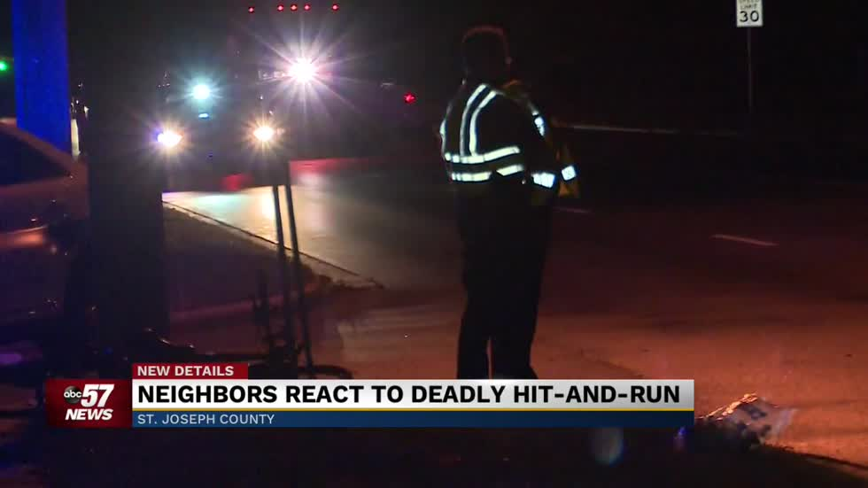 Neighbors react to tragic hit and run